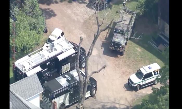 Video footage of Comso DiNardo's property. (Courtesty Fox29)