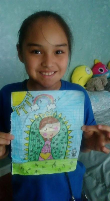 Diana Romero, 9 , was wounded in the attack (GoFundMe)