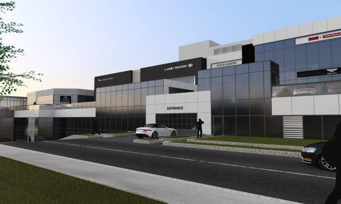 Front view, GTA 777 Dundas St. E. ( Grand Touring Automobiles Group of Companies)