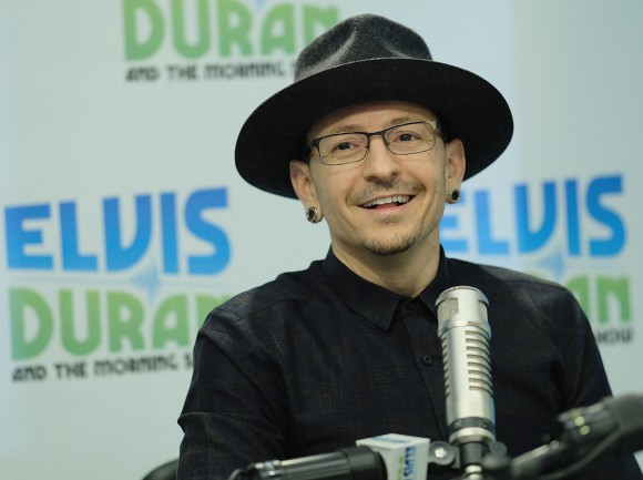 "Chester Bennington visits ""The Elvis Duran Z100 Morning Show"" at Elvis Duran Offices on Feb. 21, 2017 in New York City. (Dimitrios Kambouris/Getty Images)"