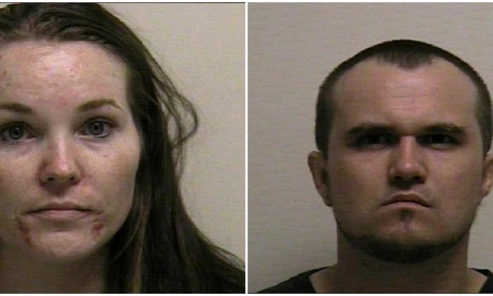 Lacey Dawn Christenson (L) and Colby Glen Wilde (R). (Photos: Utah County Sheriff)