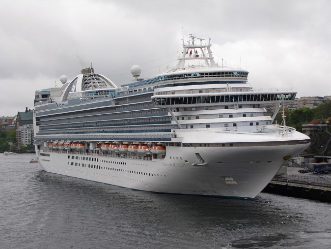 Emerald Princess (Photo by Petritap/ Creative Commons Attribution-Share Alike 3.0 Unported)