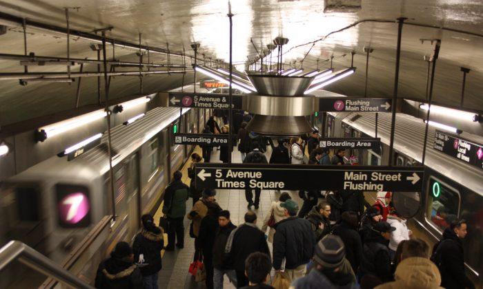 NYC subway (Wolfgang [Creative Commons Attribution 2.0 Generic goo.gl/sZkFgM] via Flickr)
