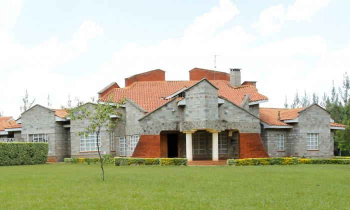 A view shows the home of Kenya's Deputy President William Ruto in Sugoi village near Eldoret, Kenya, in this photo taken August 4, 2010. (Reuters/Thomas Mukoya)