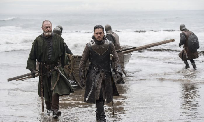 """A scene from the latest season of """"Game of Thrones"""".     (Reuters/Macall B. Polay/Courtesy HBO)"""