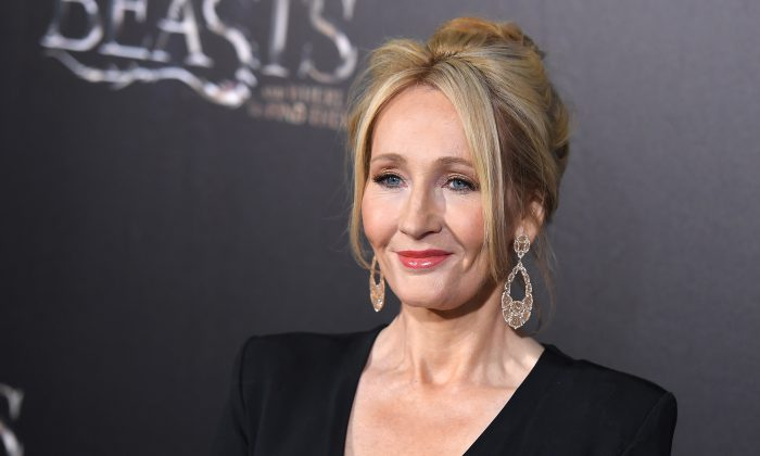 Author J.K. Rowling attends the 'Fantastic Beasts and Where to Find Them' World Premiere at Alice Tully Hall, Lincoln Center in New York on November 10, 2016. (ANGELA WEISS/AFP/Getty Images)
