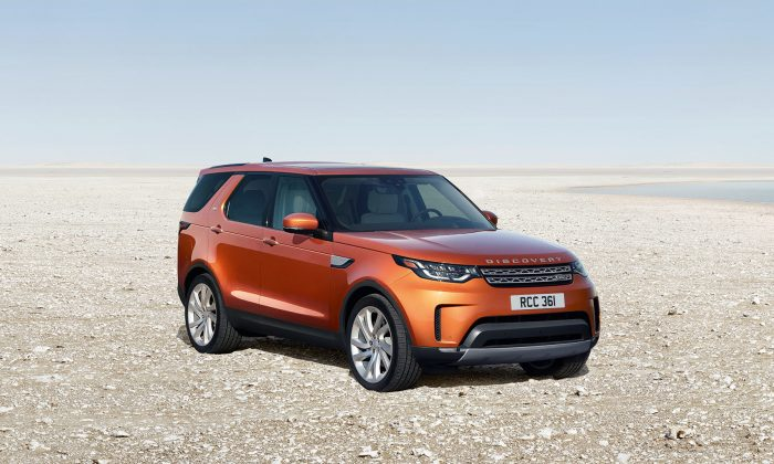 2017 Land Rover Discovery. (Courtesy of Land Rover)