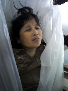 Body of Xu Chensheng. (Minghui.org)