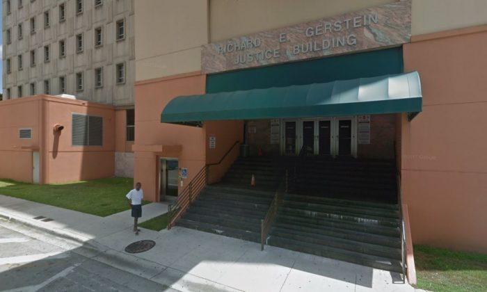 The Richard E. Gerstein Justice Building in Miami (Google Street View)