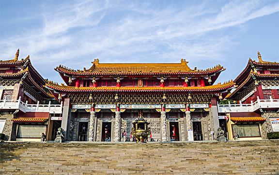 Wenwu Temple. (Jedsada Kiatpornmongkol/Shutterstock)