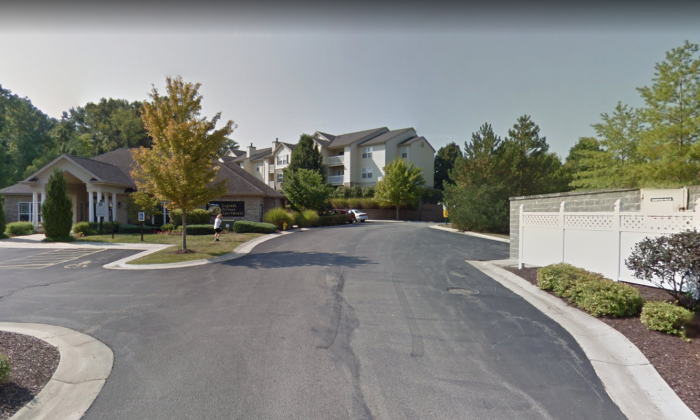 Legend Terrace Apartment Complex, where a woman was arrested for assaulting a 9-year-old boy. (Google Maps)