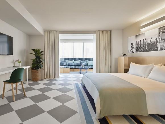 A room at The Asbury. (Nikolas Koenig)