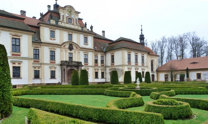 Chateau Jemniste is one of the most authentically preserved Baroque chateaus and gardens. (Barbara Angelakis)