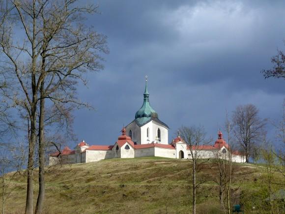 The Pilgrimage Church of St. John of Nepomuk in Ždár nad Sázavou. (Barbara Angelakis)