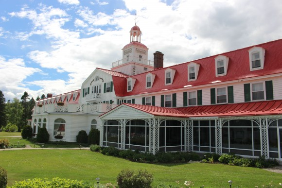 Historic Hôtel Tadoussac on the Saguenay Fjiord. (Janna Graber)