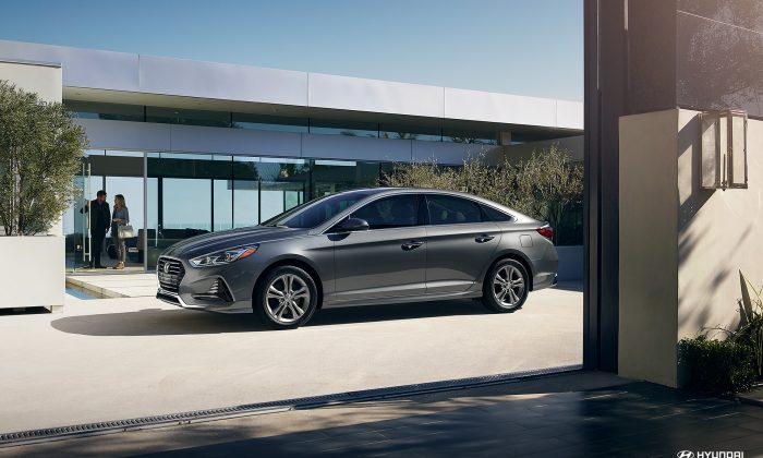 2018 Hyundai Sonata. (Courtesy of Hyundai)