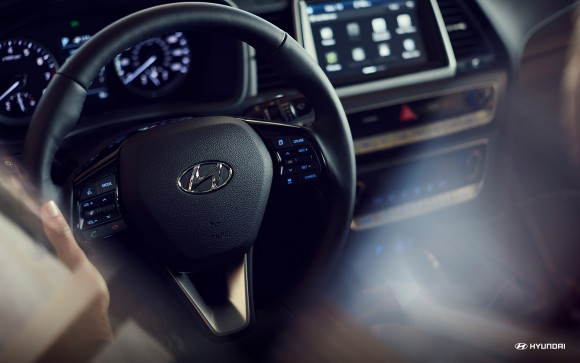 Inside the 2018 Sonata. (Courtesy of Hyundai)