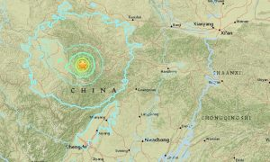 Magnitude 6.5 Earthquake Strikes Western China, Deaths Reported