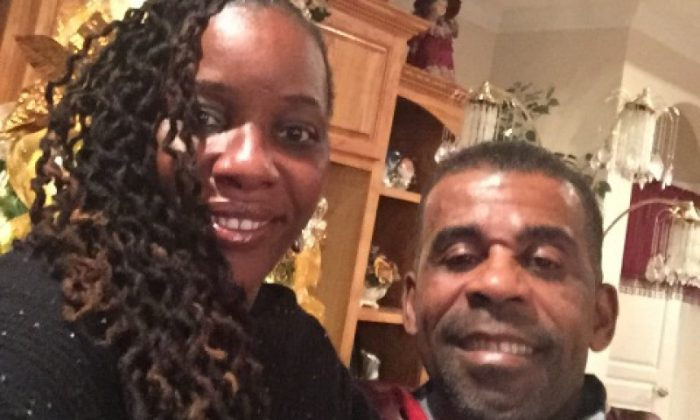 Soloman Williams (right) and his wife Louisa Williams (right). (Picture via GoFundMe)