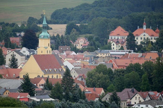 Town of Pulsnitz, Germany, in eastern Germany near Dresden. Pulsnitz is the hometown of teenager Linda Wenzel who converted to Islam while living in Pulsnitz, and traveled to Iraq to marry an ISIS fighter. Pulsnitz has a population of approximately 7,500. (Sean Gallup/Getty Images)