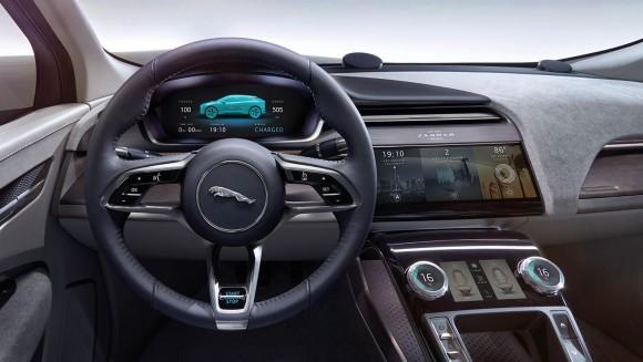 Jaguar I-Pace interior (Jaguar Canada)