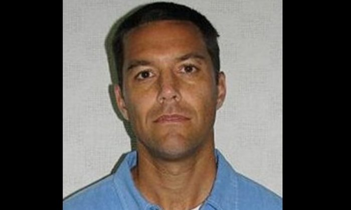 Mugshot of Scott Lee Peterson courtesy of California Department of Corrections 2011