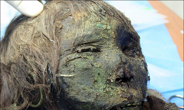 "The ""Polar Princess"" uncovered in northern Siberia in July is the first adult female found in a burial site thought to be all male. (Institute of the Problems of Northern Development SB RAS)"