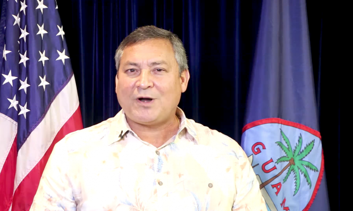 Governor Eddie Calvo (Screenshot/Official Youtube Account)