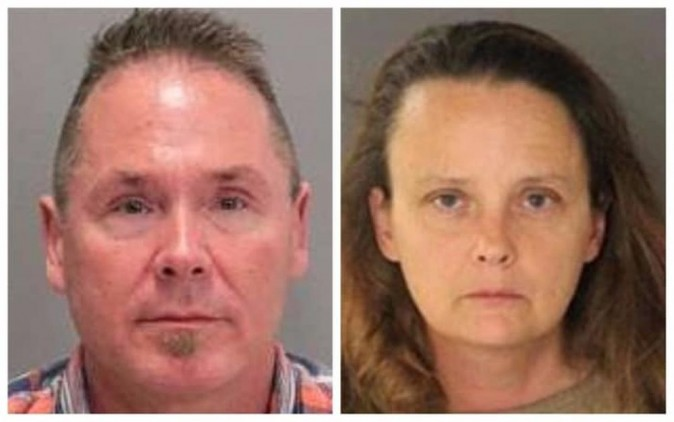 Michael Kellar, of Tacoma, Washington, was flying to San Jose, California, in late July when he exchanged disturbing messages with Gail Burnworth, according to federal investigations, as reported by the Los Angeles Times.  (San Jose Police Department)
