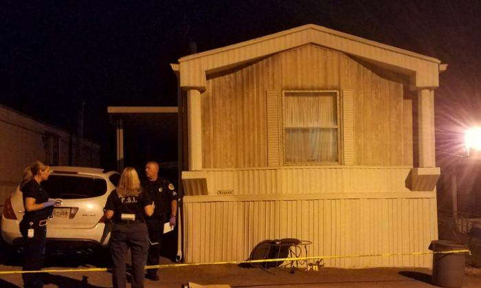 Mobile home where Yhoana Artega was murdered in Goodlettsville, Tenn., on Aug. 10, 2017. (Metropolitan Nashville Police Department)
