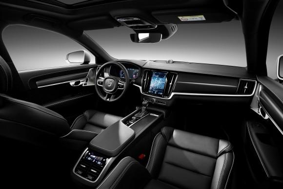 Volvo V90 interior (Volvo Canada)