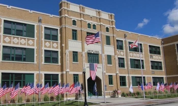 (Lawton Chiles Middle Academy via Google Earth)