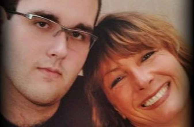 James Fields and his mother Samantha Bloom (Facebook)