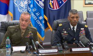 Dunford Says US Military Prepares For North Korea's Development Capability