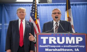 Trump Considers Pardon for Joe Arpaio, 'America's Toughest Sheriff'