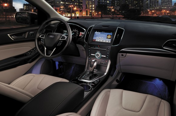 Ford Edge interior (Ford Motor Company)