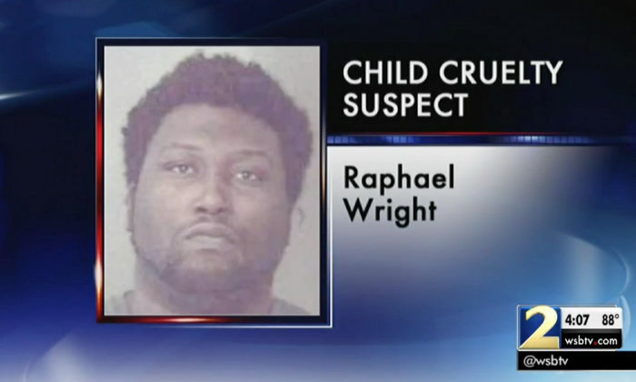 The suspect Raphael Wright. (Screenshot via WSB-TV)