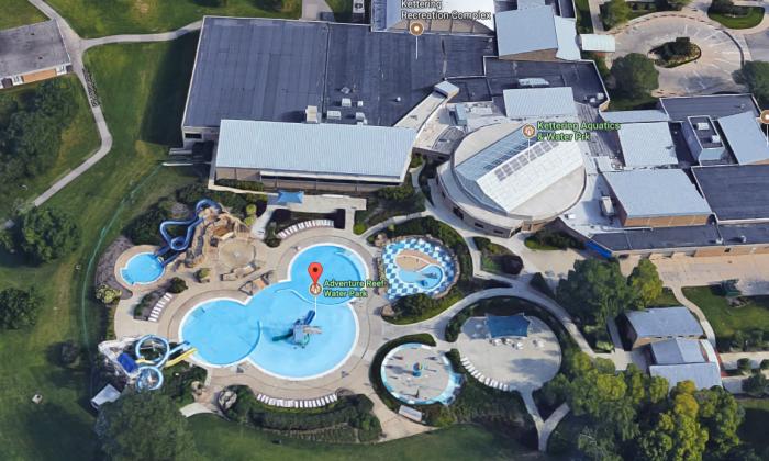 Adventure Reef Water Park in Kettering, Ohio. (Google Earth)