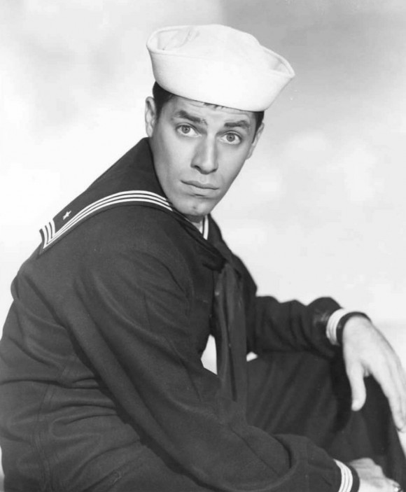 """U.S. comedian and actor Jerry Lewis in the 1951 movie """"Sailor Beware.""""  (FILES/AFP/Getty Images)"""
