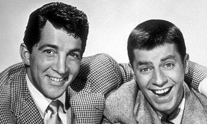 Jerry Lewis and Dean Martin    (Public Domain)