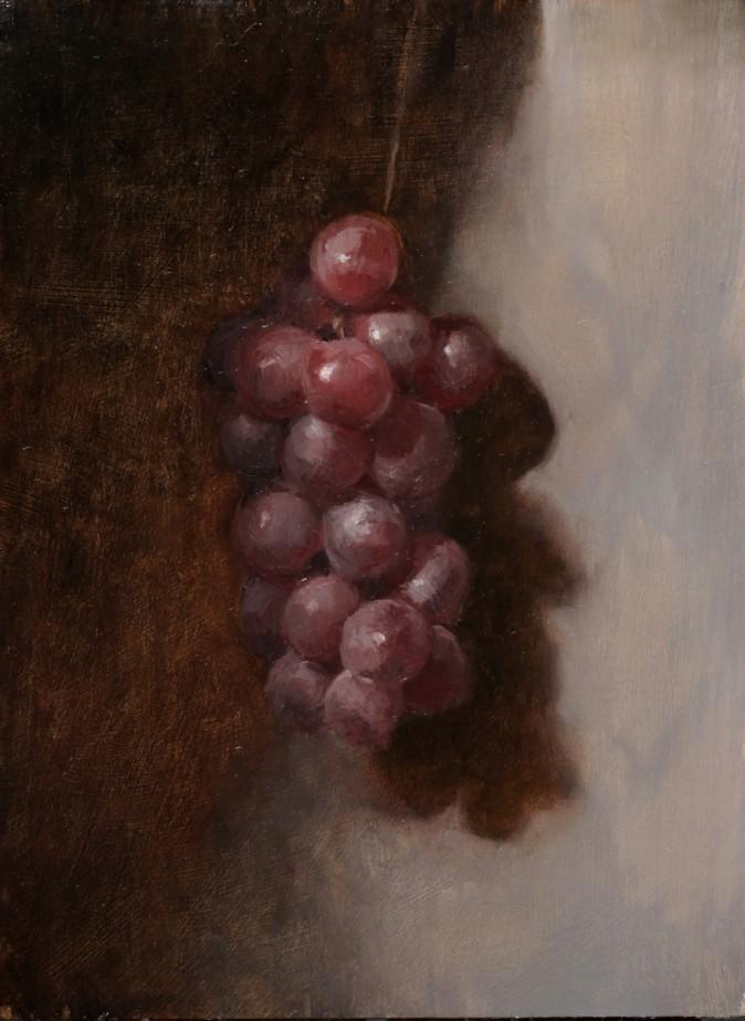 """""""Alla Prima Grapes,"""" by Jessica Artman. (Courtesy by Jessica Artman)"""