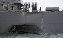US Navy Fires 2 Commanders after Asia Sea Accidents