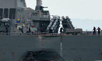Chinese Navy Admiral Cheers USS John S. McCain Collision