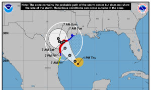 Texas Gets Ready to Battle With Possible Hurricane Harvey