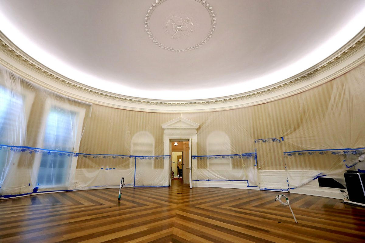 In Pictures: The Oval Office and West Wing After ...