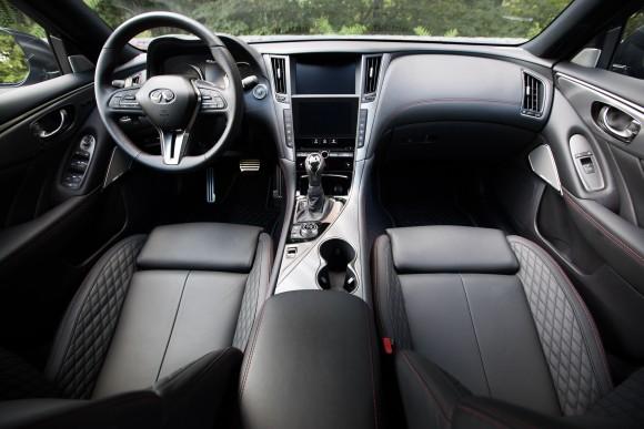 Infiniti Q50 interior (Infiniti)