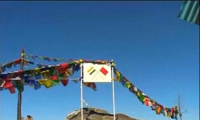India-China border (Reuters TV)