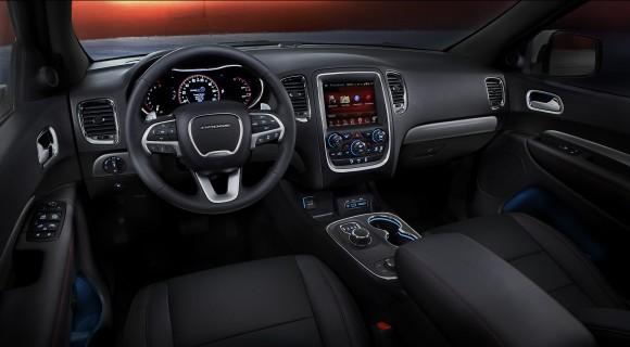 The interior of the 2017 Durango. (Courtesy of Chrysler Dodge)