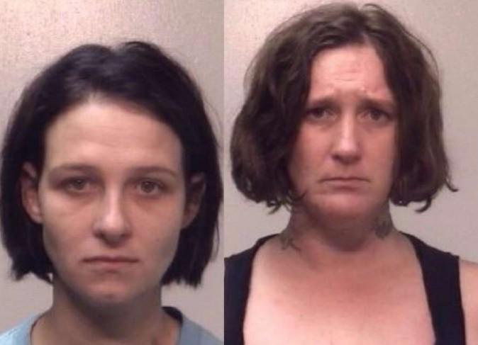 Emmie Crystal Nolan (left), Brenda Hope Gaddy (right) (Police handout)