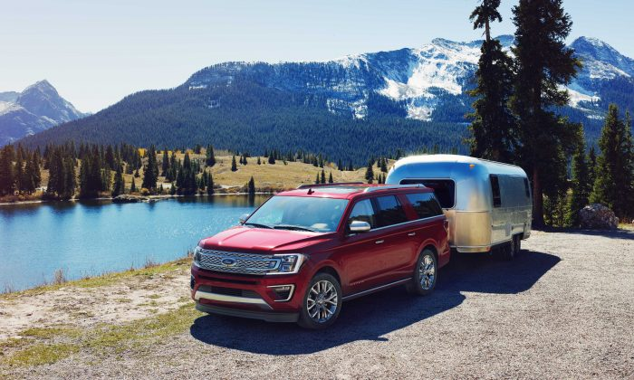 2018 Ford Expedition. (Courtesy of Ford)